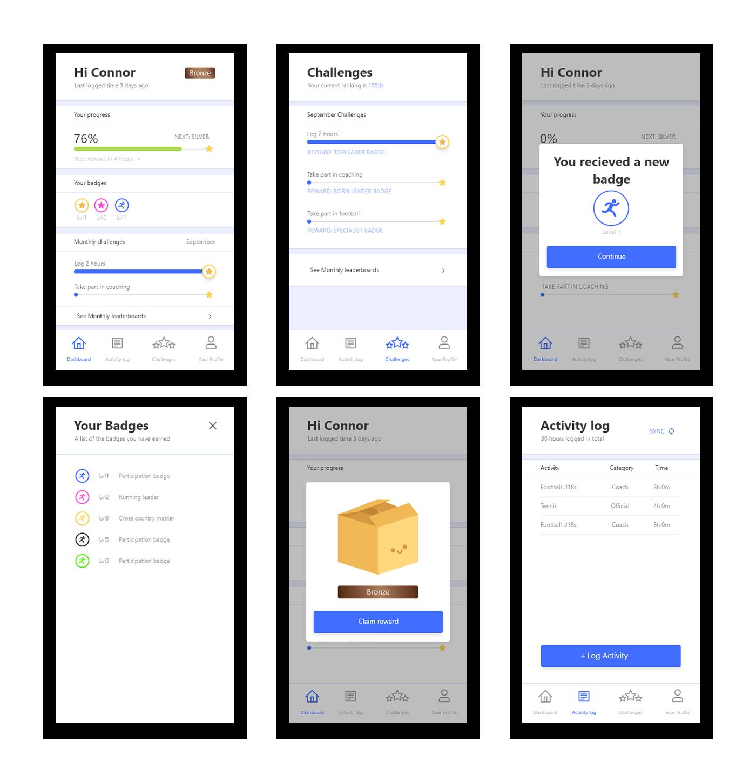 app screenshot showcase